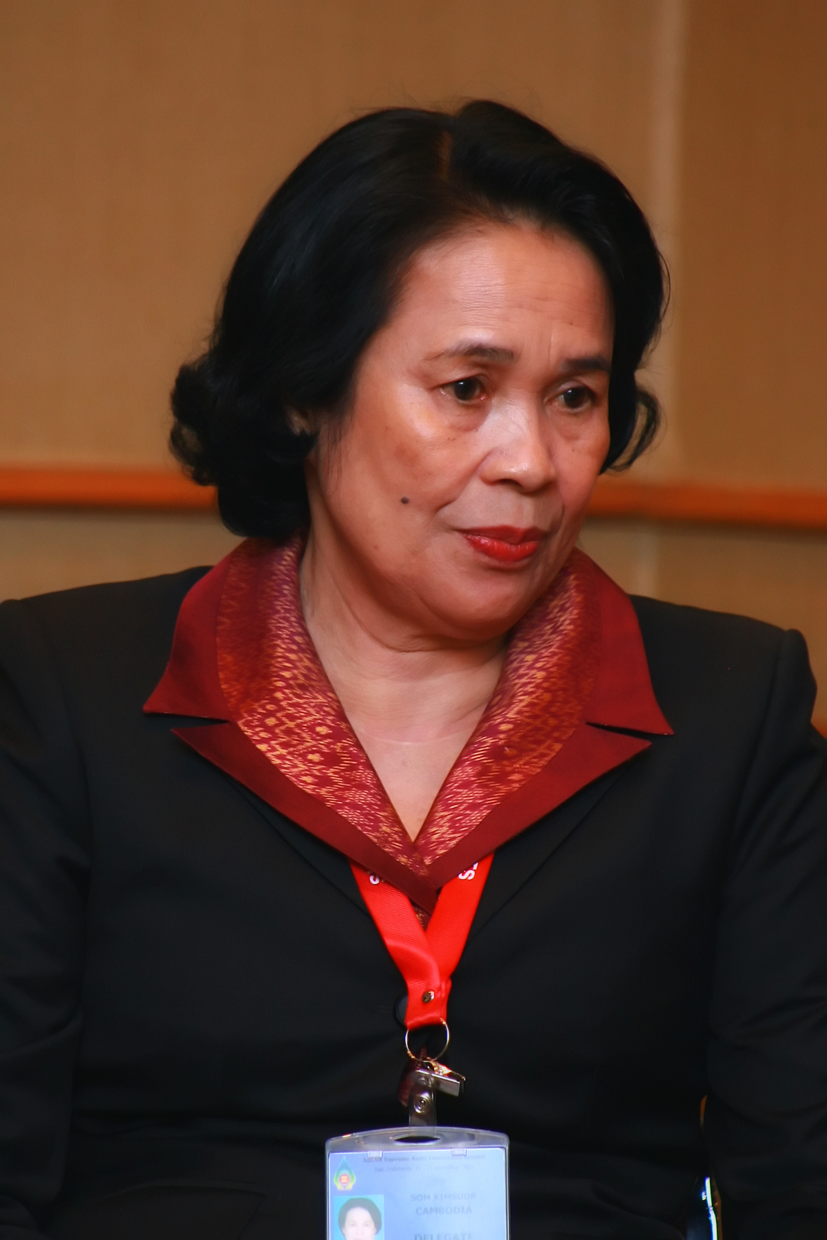 Sex: Female. Nationality: Cambodian. Date of birth: October 30, 1949