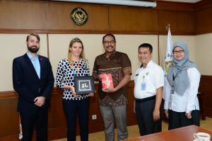 """Farewell of German """"Support to ASEANSAI"""" project team with"""