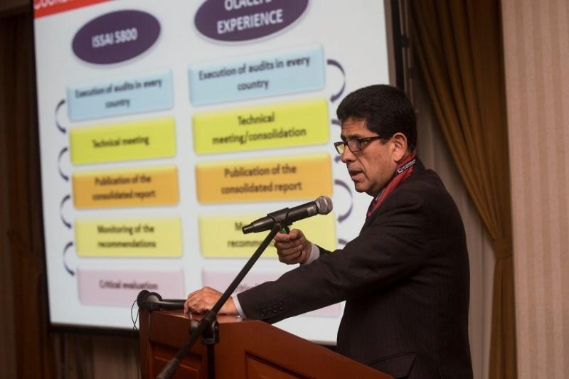 Presentation of SAI Peru on ISSAI 5600 Implementation Project