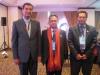 Datuk Anwari and Roslan Mohd Dah Took a Picture with Chebbi Abdellatif from SAI Tunisia as the representative from ARABOSAI